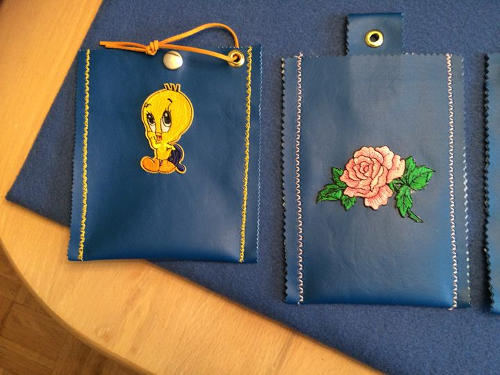 CELL PHONE POUCHES - LINDA'S ART