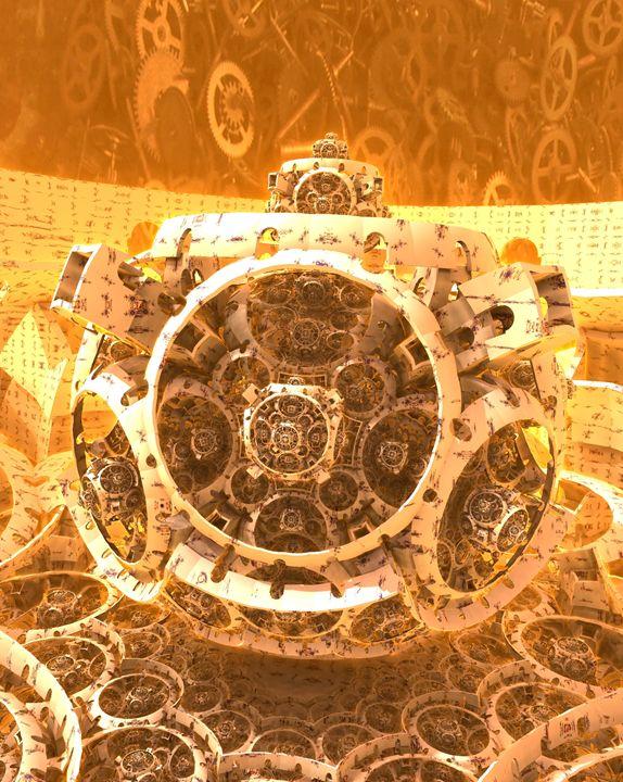A Clockwork Origin - Fractals