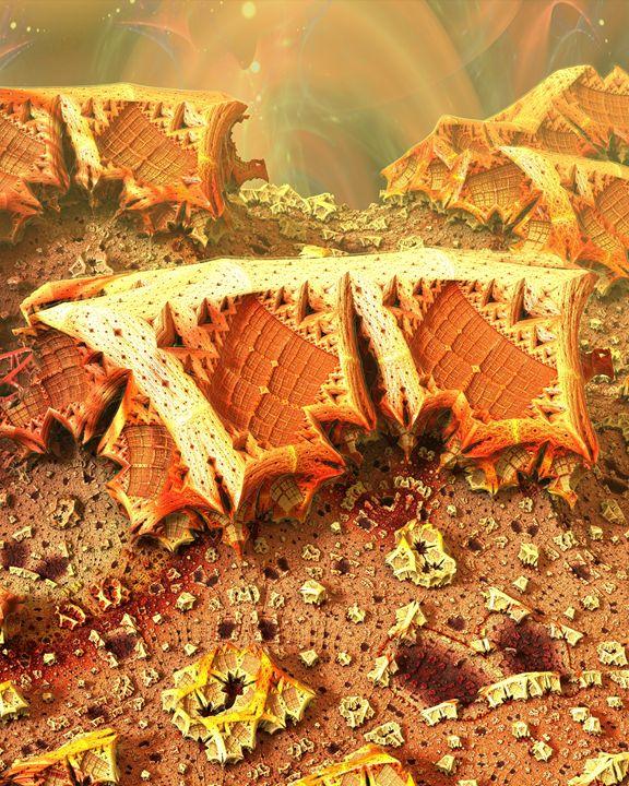 Desert Gems - Fractals