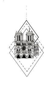 Notre Dame - Geometric #2