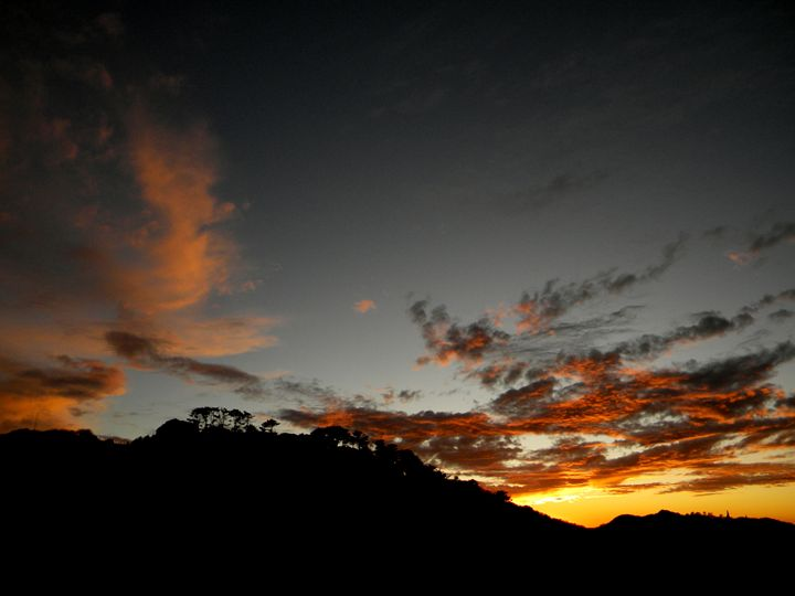 Sunset Silhouette - Tiyash Majumdar