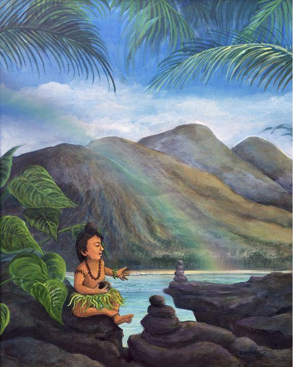 Aloha Rocks Menehune Balance - Darshan Zenith Hawaii
