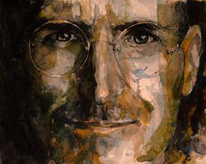 Steje Jobs portrait
