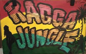 Ragga jungle painting