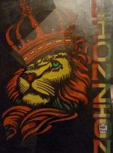 Lion zion painting