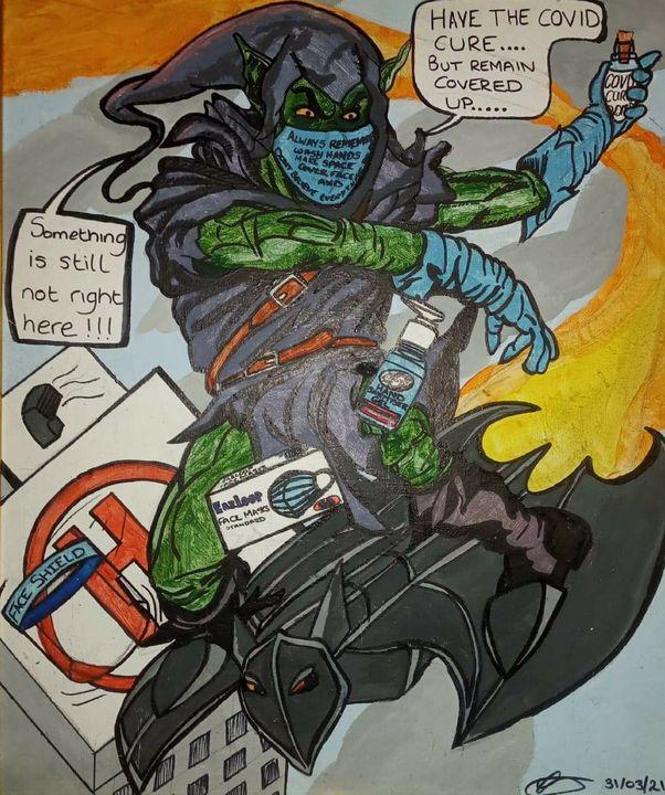 Jenksies Green goblinpandemic 2020 - Jenksies Arts