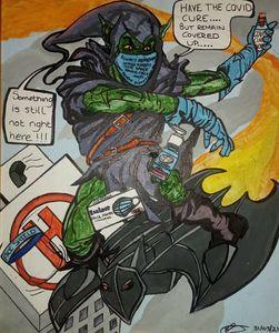 Jenksies Green goblinpandemic 2020 - Jenksies Arts of Arts