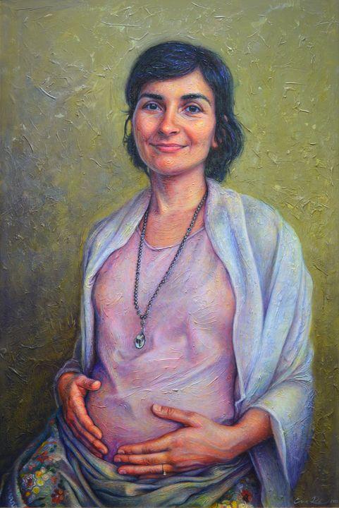 Yamuna - Eva Radu Artist