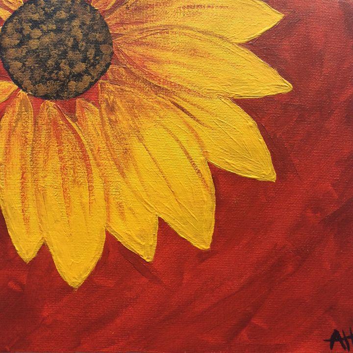 Bold sunflower - AH art