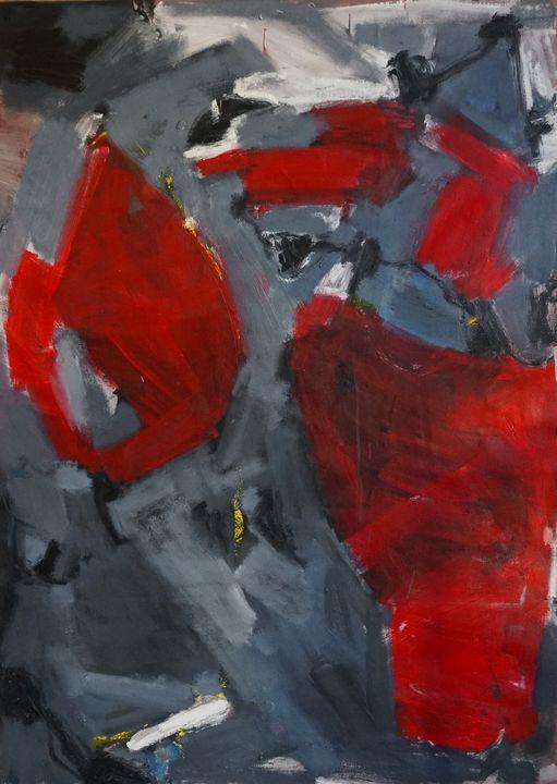 Floating reds over my head - Ana Flávia Garcia
