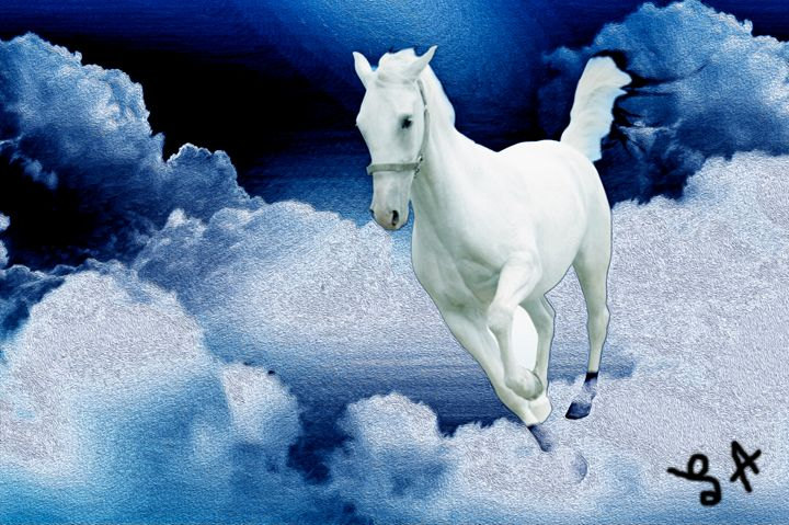 Horse in the Clouds - Larry Anderson