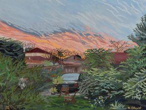 Orange Sky in Elsternwick