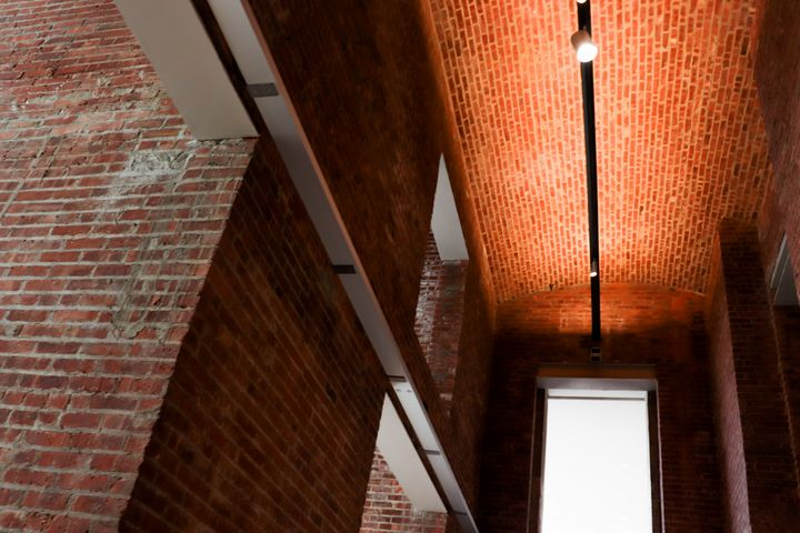 Brick Hallway - Art by Morgan