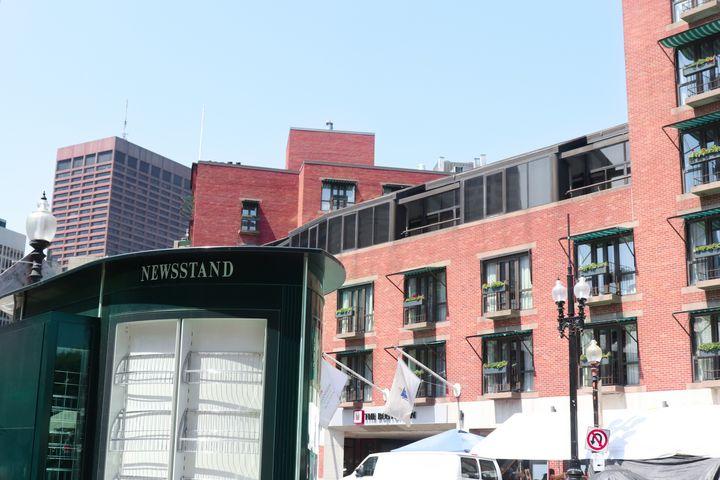Boston Architecture - Art by Morgan