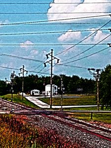 Jacksonville IL Rail Crossing 2 - J5rson! Art & Photography