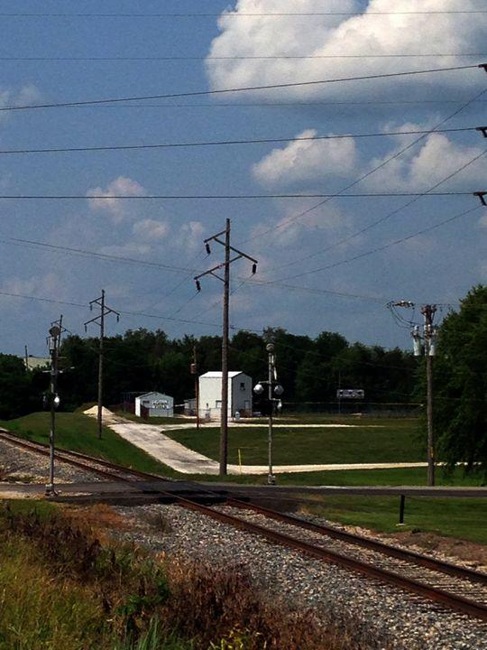 Jacksonville IL Rail Crossing 1 - J5rson! Art & Photography