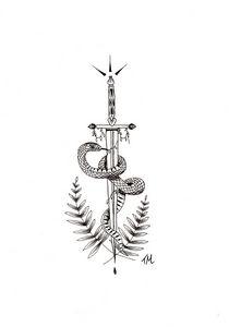Sword snake