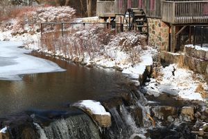 Water Grist Mill – Waterwheel