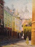 "Krakow, Poland 20 x 24"""