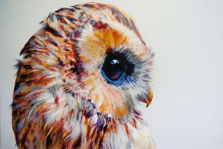 The Shy Owl - Anna's Treasures