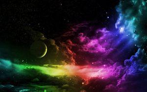 Cloudy Galaxy