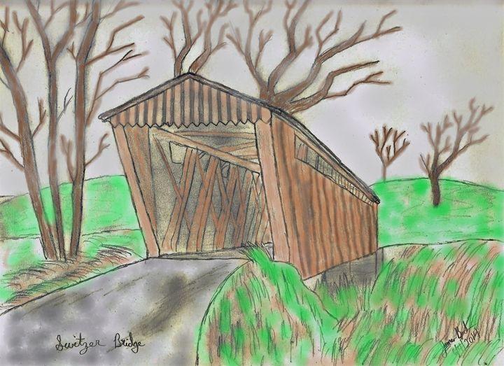 Switzer Covered Bridge - Back154