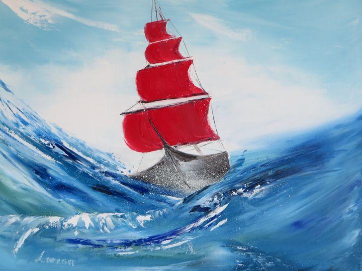 Scarlet sail - Larisa