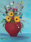 Oil Paint Flower