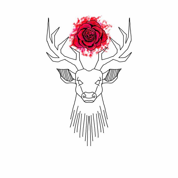 Stag & Rose - Studio Pan