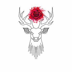 Stag & Rose