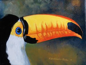 Toucan - Gallicchio's Art Studio