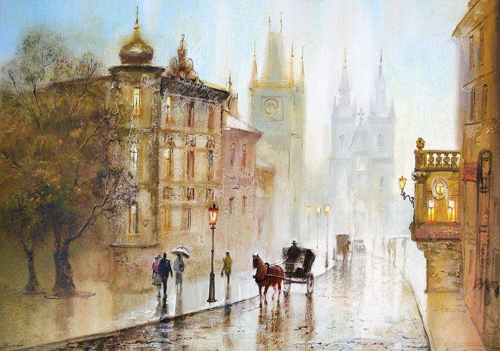 Prague - Ukranian art