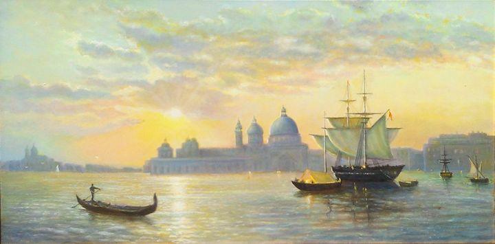Venice - Ukranian art