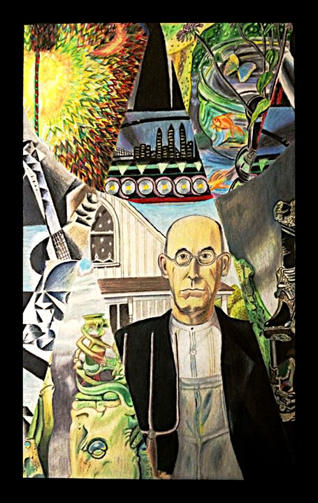 Interpretation of the artists - Art by Anne-Marie Keller