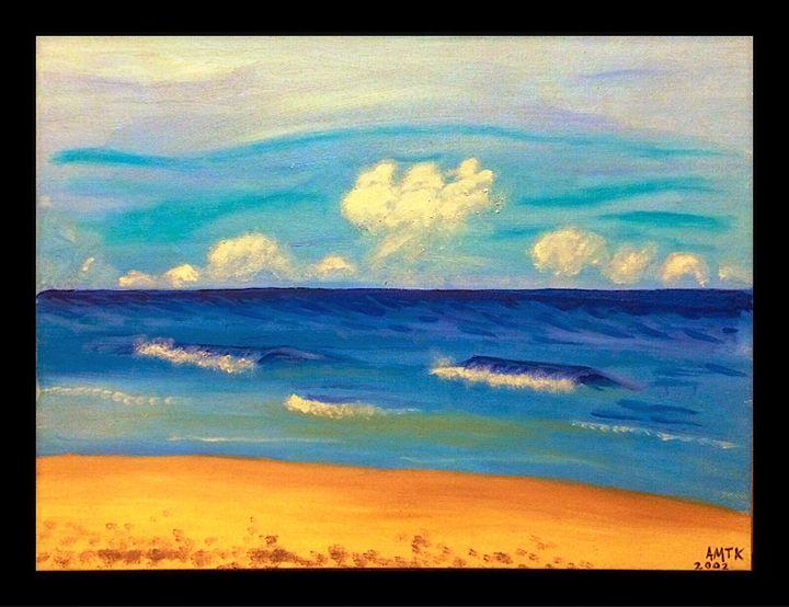 Ocean view - Art by Anne-Marie Keller