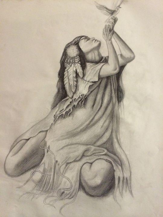 Free spirit - Art by Anne-Marie Keller