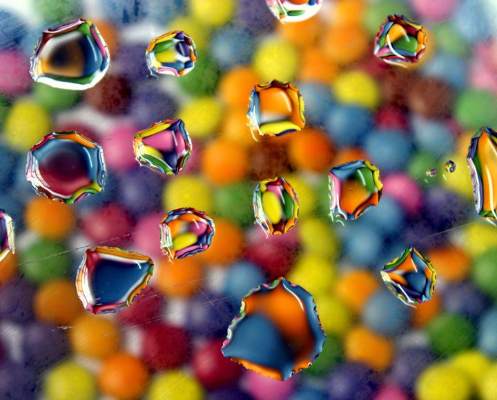 Colorful drops - AJ Photography