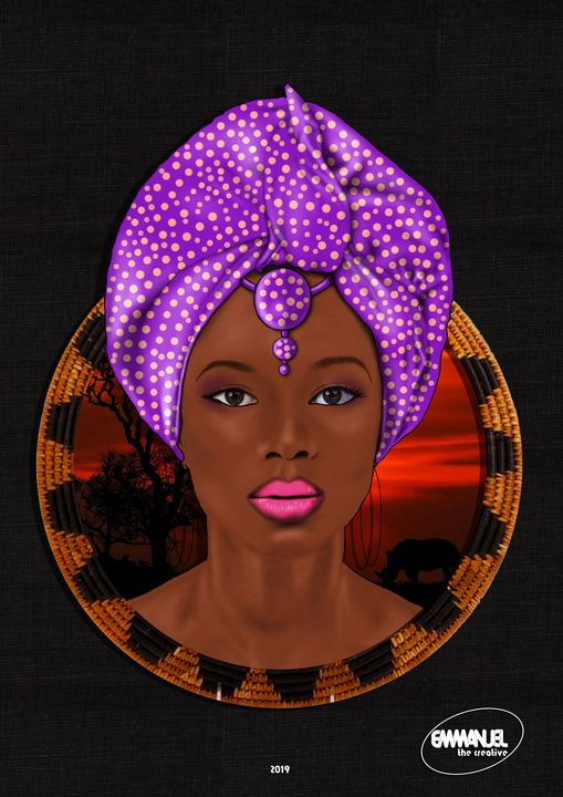African crown #1 - emmanuel the creative