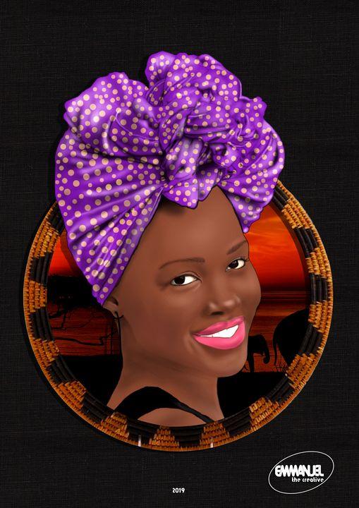 African Crown #3 - emmanuel the creative
