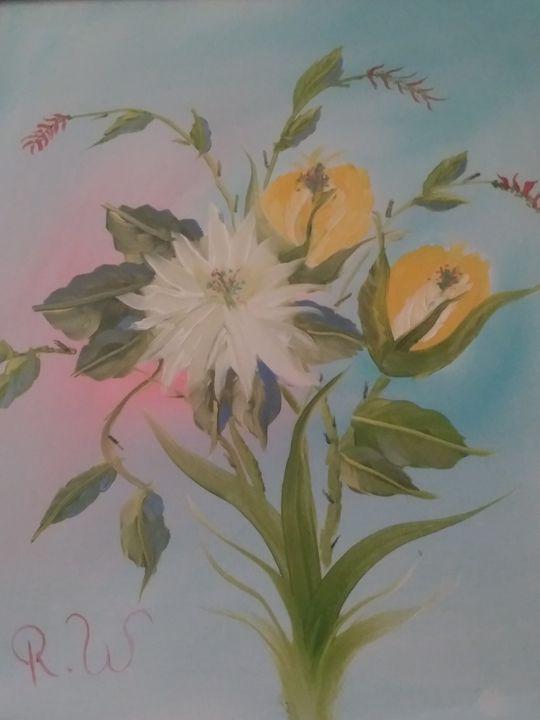 White on Yellow - Sunshine Gallery