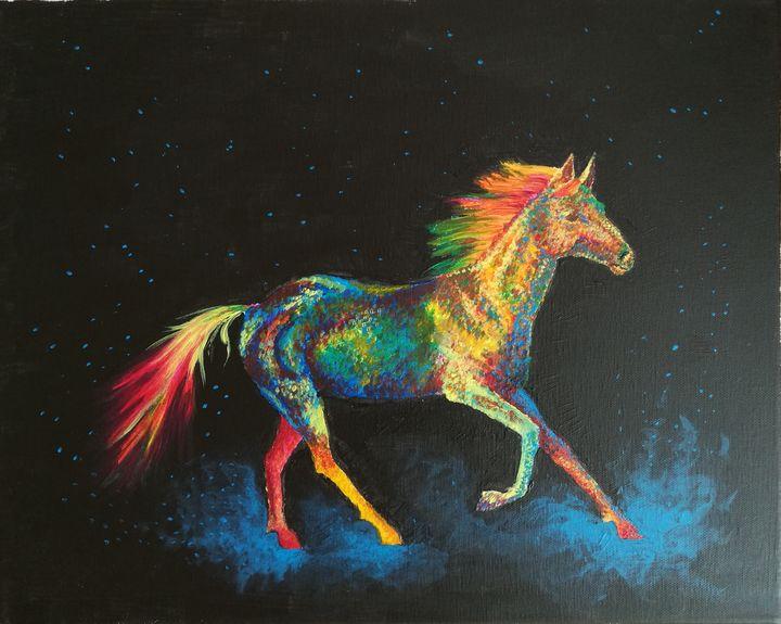 She canters sparks of creativity - Marlika