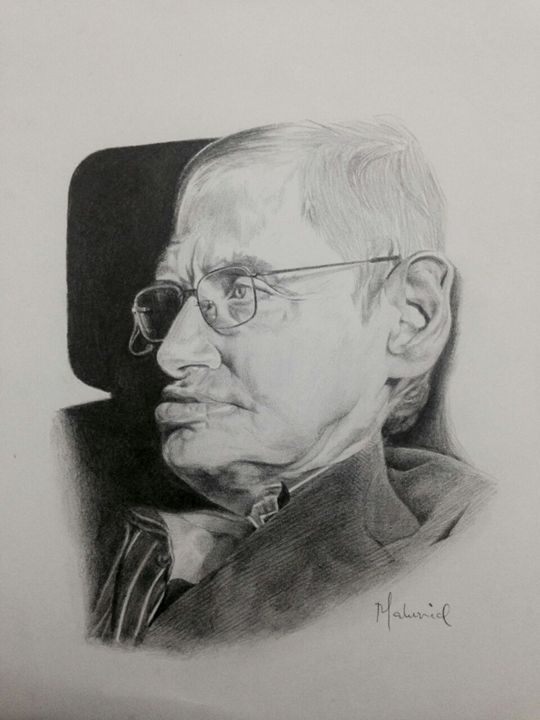 Stephen Hawking - Maluvid