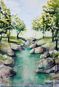 Walk Along the River 2