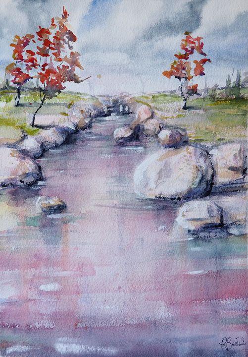 Walk Along the River 4 - Richard Bradshaw