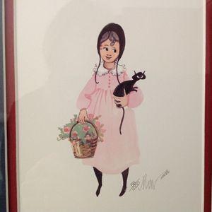 Vintage Art-Amish Inspired