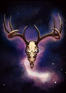 Spacestag - Larsh Digital Art