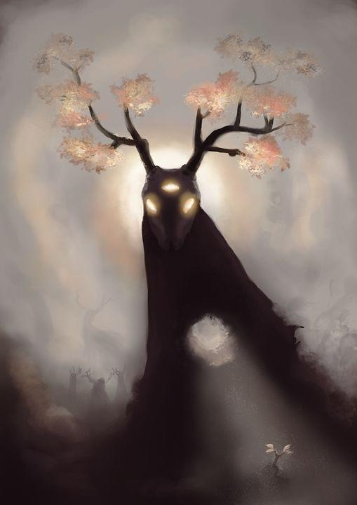 Horns - Larsh Digital Art