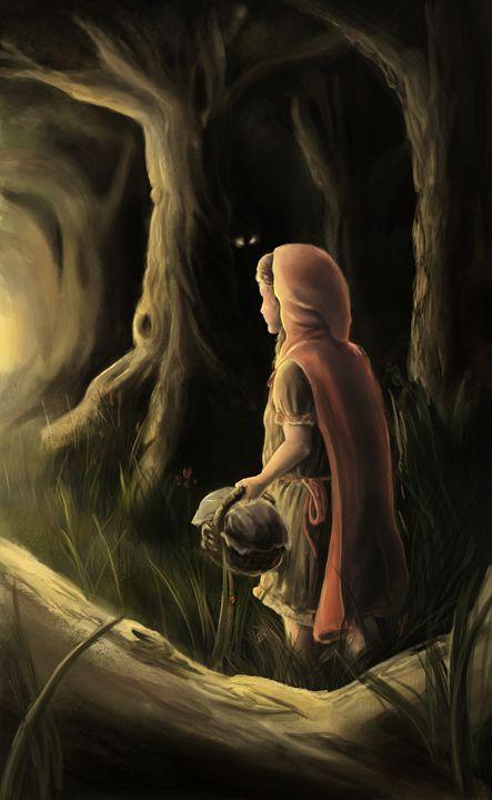 In the woods - Larsh Digital Art