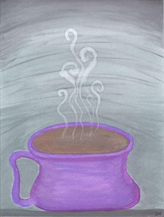 Purple Coffee Love - Life Exhaled