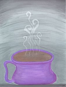 Purple Coffee Love